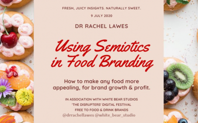 Make any food or drink brand more appealing using semiotics: 9 July 2020