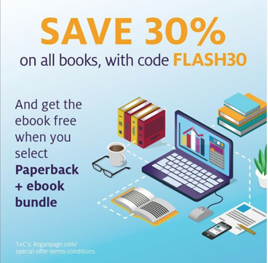 Flash Sale: 30% off all books at Kogan Page