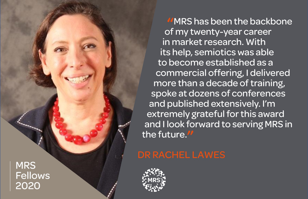 Fellowship Award announced by Market Research Society