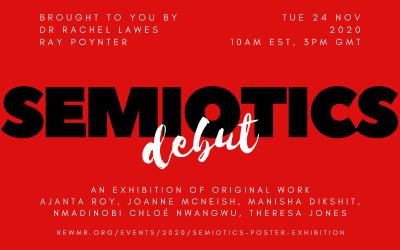 Semiotics Poster Exhibition 24 November