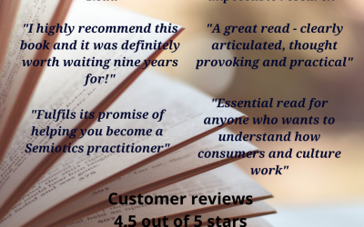Using Semiotics in Marketing: Wonderful reviews from satisfied customers!